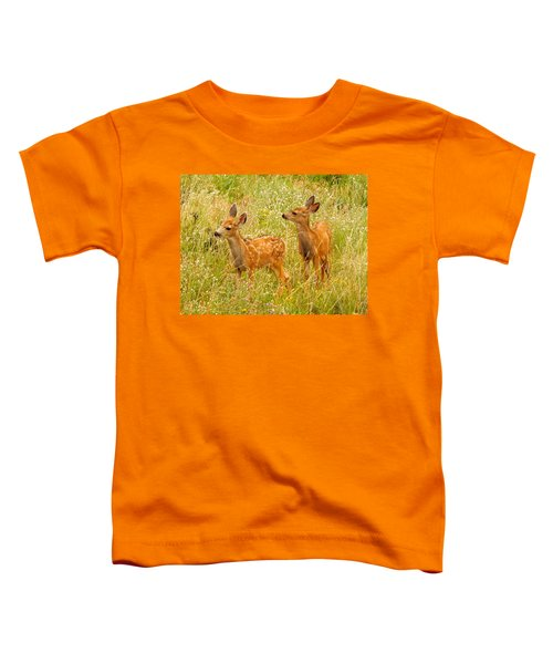 Twin Fawns Toddler T-Shirt
