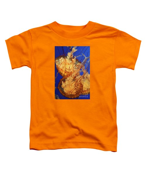 Underwater Friends - Jelly Fish By Diana Sainz Toddler T-Shirt