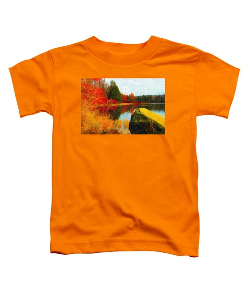 View From The Rock Toddler T-Shirt