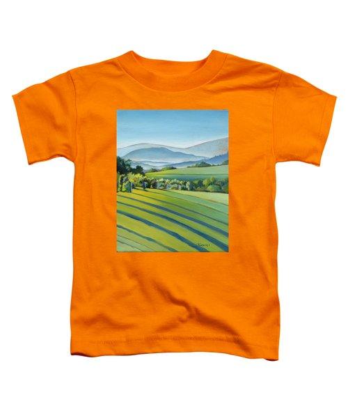 Vineyard Blue Ridge On Buck Mountain Road Virginia Toddler T-Shirt