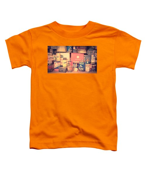 Vintage Gas Service Station Products Toddler T-Shirt