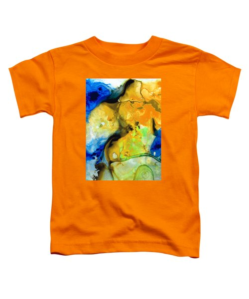 Walking On Sunshine - Abstract Painting By Sharon Cummings Toddler T-Shirt