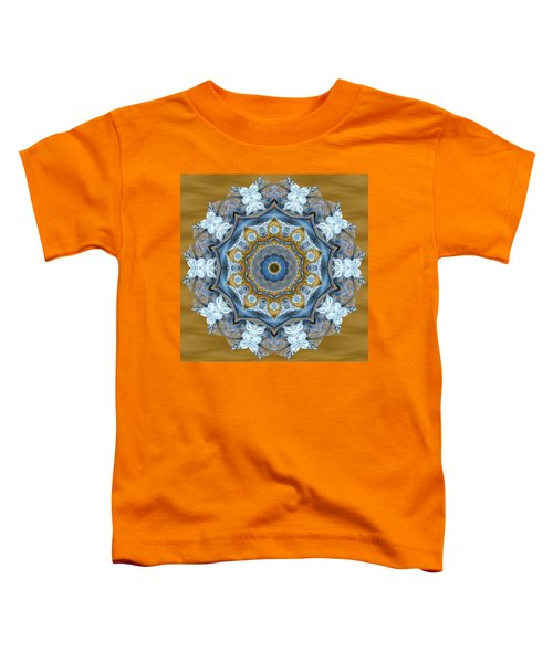 Water Patterns Kaleidoscope Toddler T-Shirt