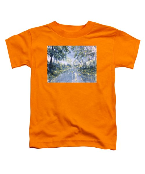 Wet Road In Woldgate Toddler T-Shirt
