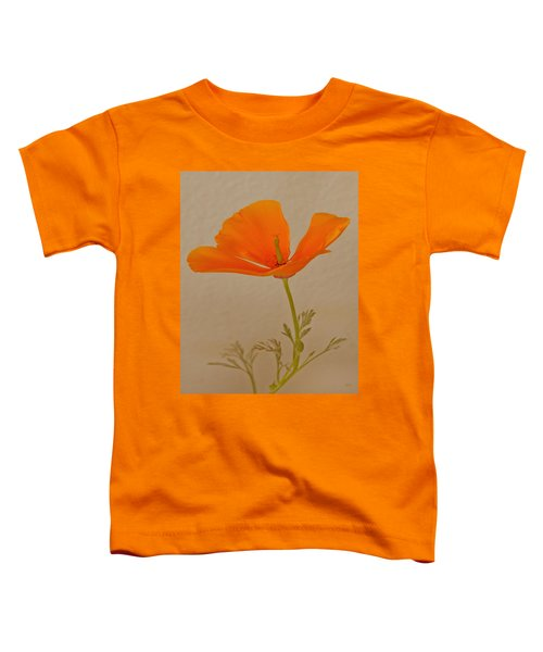 Wild California Poppy No 1 Toddler T-Shirt