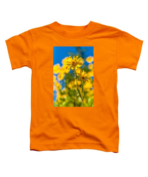 Wildflowers Standing Out Toddler T-Shirt