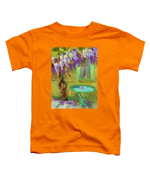 Wisteria At Hotel Baudy Toddler T-Shirt