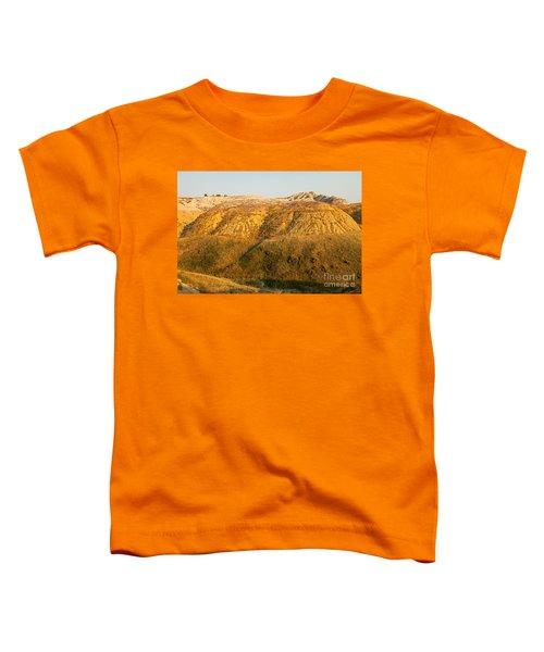 Yellow Mounds Overlook Badlands National Park Toddler T-Shirt