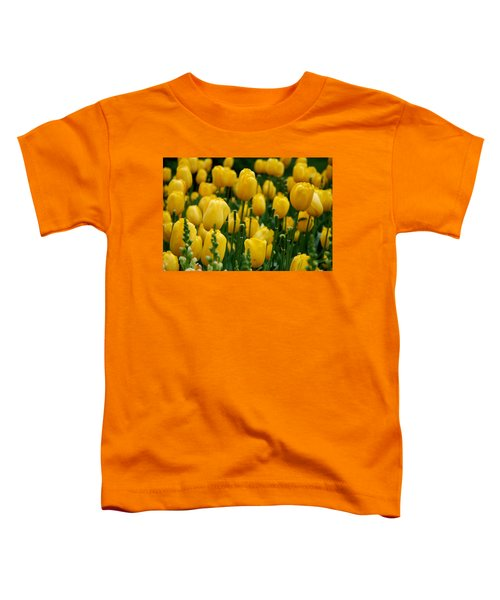 Yellow Tulip Sea Toddler T-Shirt