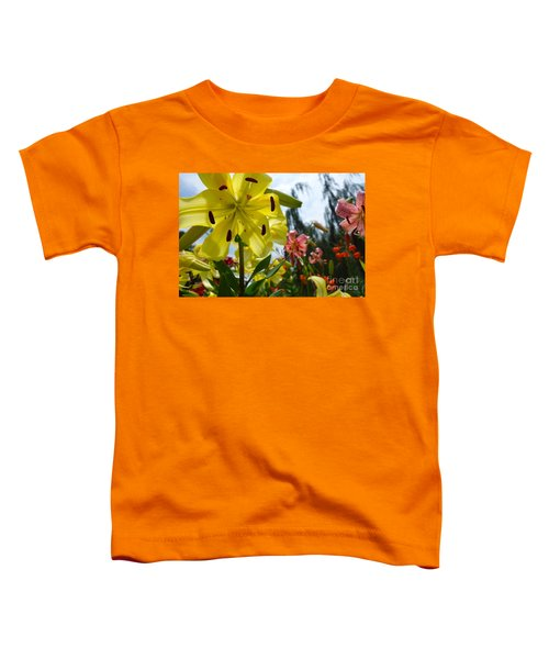 Yellow Whopper Lily 1 Toddler T-Shirt by Jacqueline Athmann