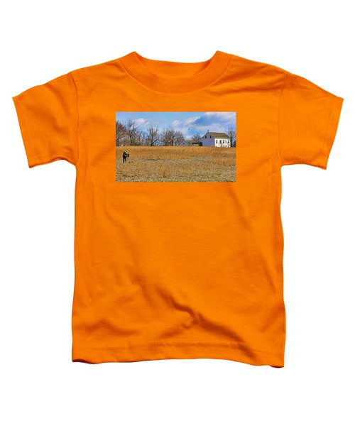 Artist In Field Toddler T-Shirt