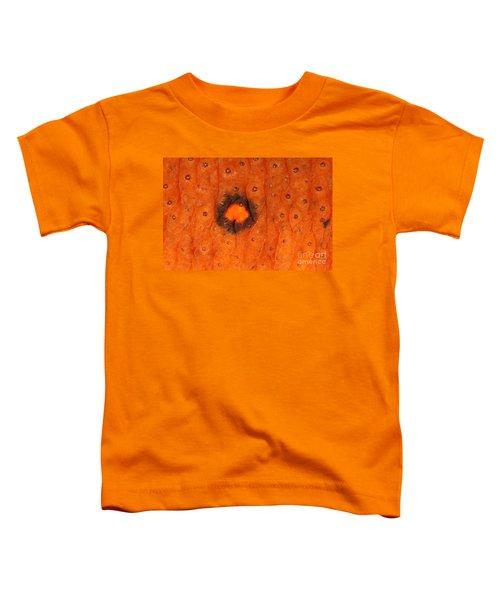 Skin Of Eastern Newt Toddler T-Shirt by Ted Kinsman