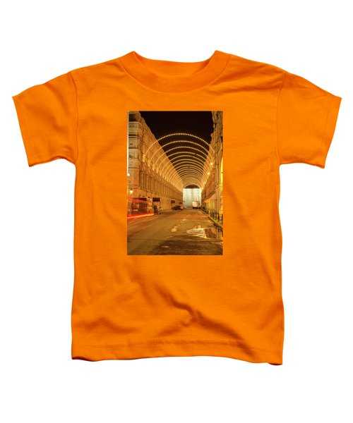 Red Square In Moscow At Night Toddler T-Shirt