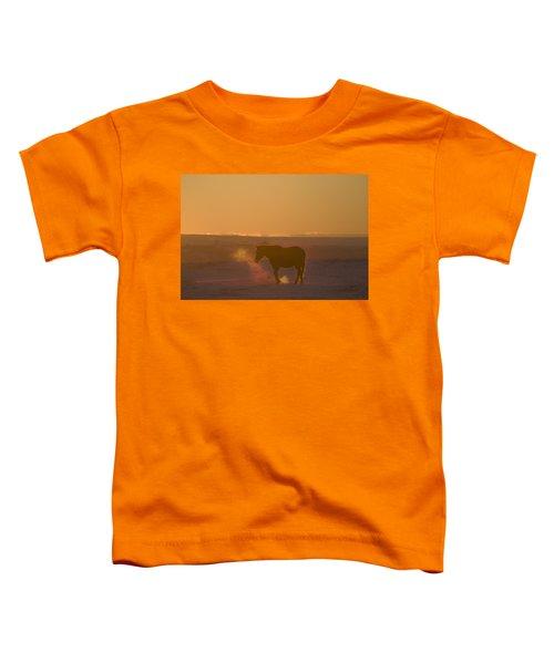 Alberta, Canada Horse At Sunset Toddler T-Shirt