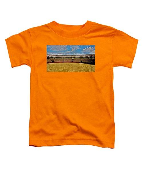 Arena De Toros - Sevilla Toddler T-Shirt