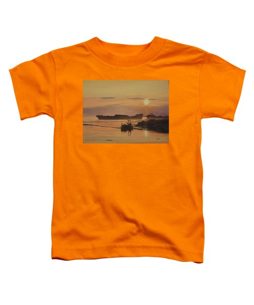 At The End Of It's Day Toddler T-Shirt