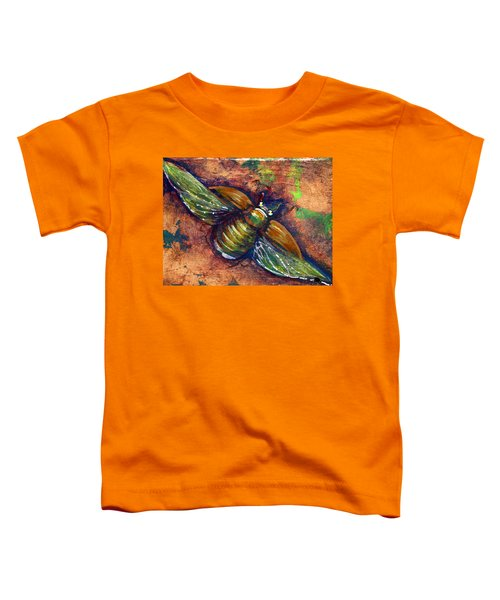Copper Beetle Toddler T-Shirt