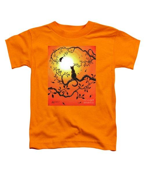 Halloween Sunset Toddler T-Shirt