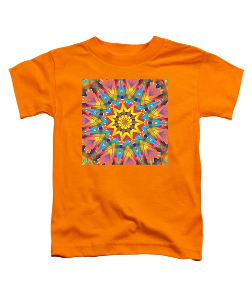 Kaleidoscope Series Number 7 Toddler T-Shirt