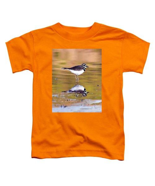 Killdeer Reflection Toddler T-Shirt