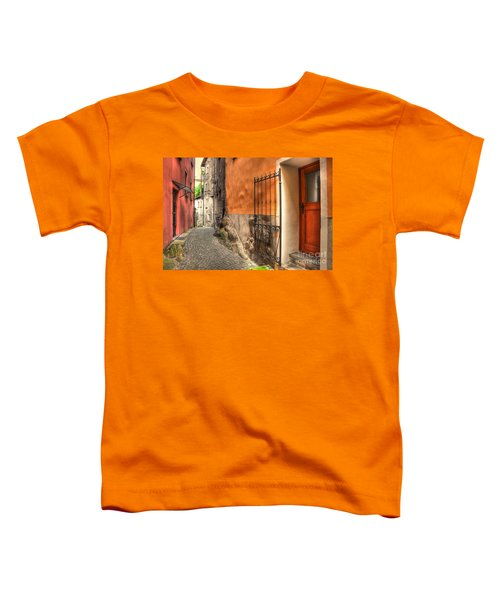 Old Colorful Rustic Alley Toddler T-Shirt