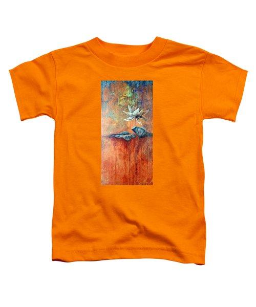 Patina Lotus Toddler T-Shirt