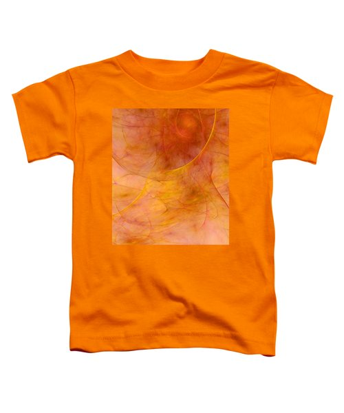 Poetic Emotions Abstract Expressionism Toddler T-Shirt
