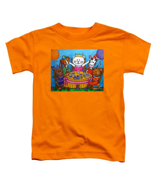The Little Tea Party Toddler T-Shirt