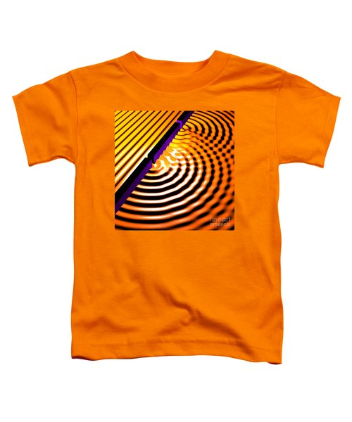 Waves Two Slit 2 Toddler T-Shirt