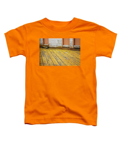 Weathered Monterey Building Toddler T-Shirt