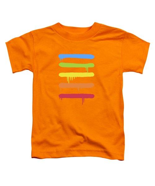 Trendy Cool Graffiti Tag Lines Toddler T-Shirt
