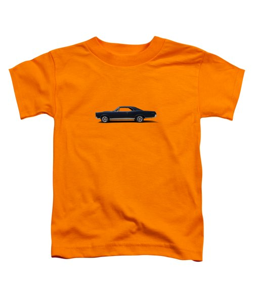 67 Gto Toddler T-Shirt by Douglas Pittman