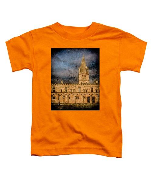 Oxford, England - Christ Church College Toddler T-Shirt