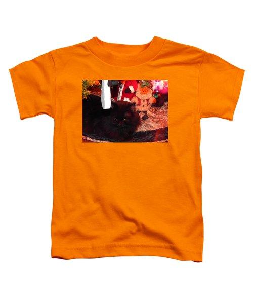 Christmas Kitty Toddler T-Shirt