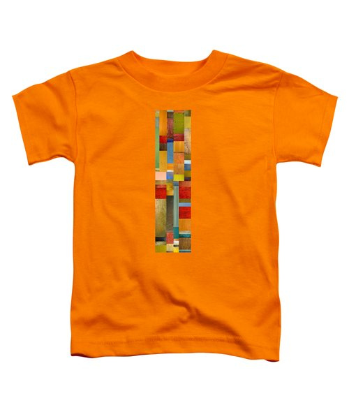 Color Panels With Green Grass Toddler T-Shirt