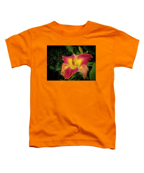 Colorful Lily  Toddler T-Shirt