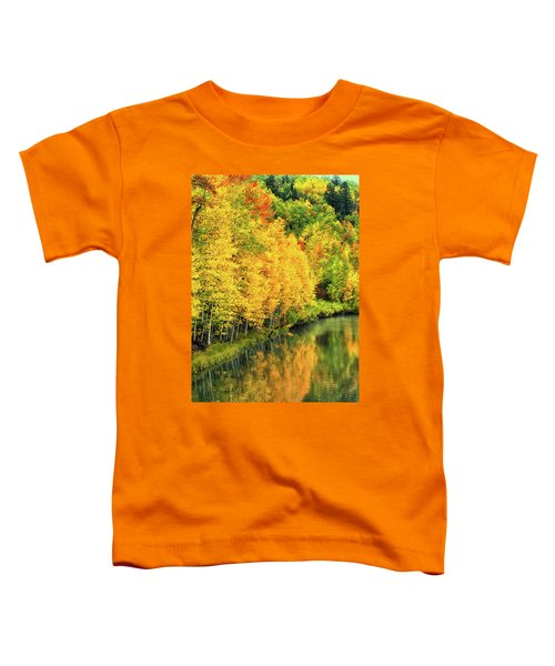 Cushman Lake  Toddler T-Shirt