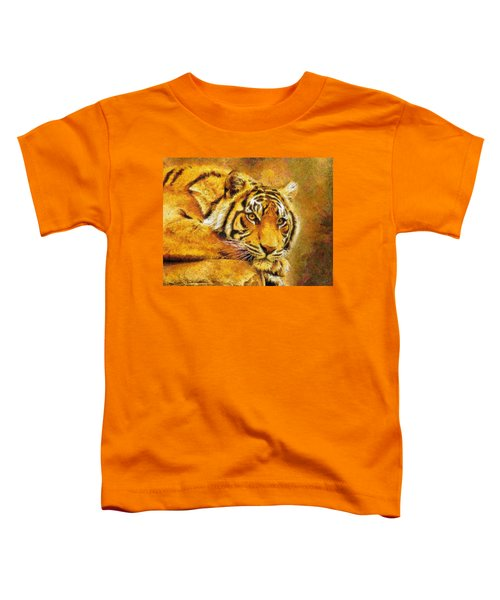 Eye Of The Tiger Toddler T-Shirt