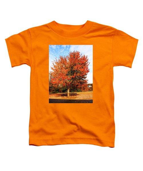 Fall Time Toddler T-Shirt