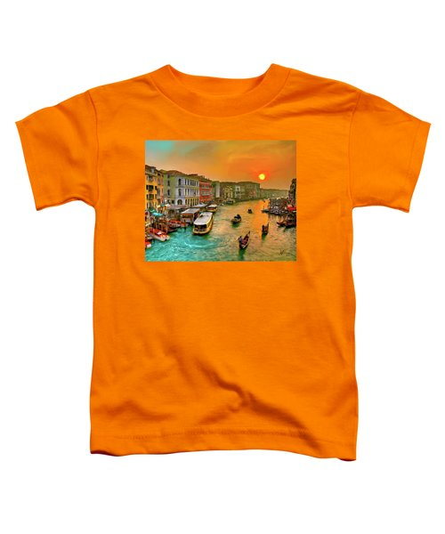 Imbarcando. Venezia Toddler T-Shirt