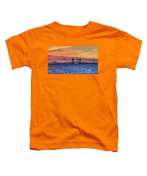 James River Bridge Toddler T-Shirt