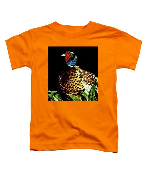 Pheasant Toddler T-Shirt