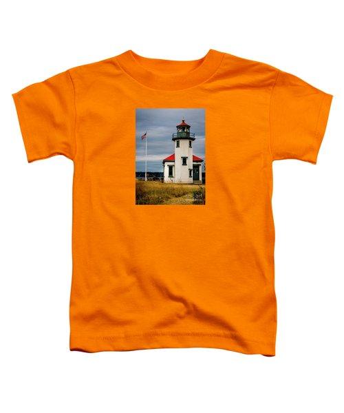Point Robinson  Lighthouse,vashon Island.wa Toddler T-Shirt