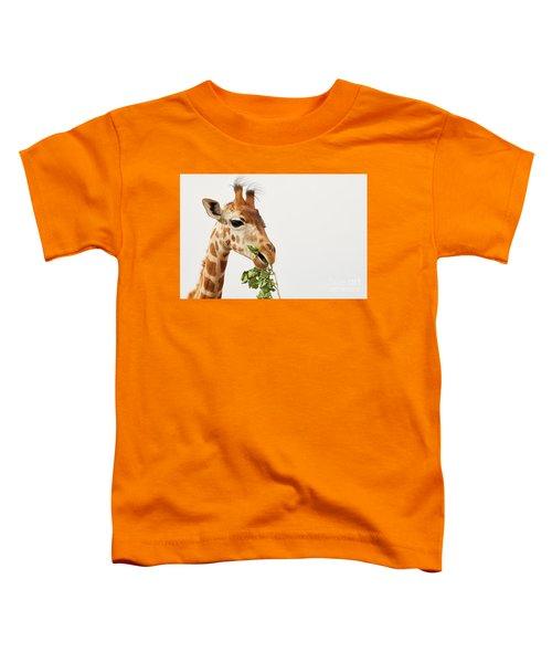 Portrait Of A Rothschild Giraffe  Toddler T-Shirt