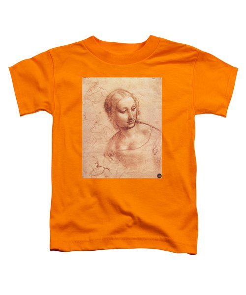 Study For Madonna With The Yarnwinder Toddler T-Shirt
