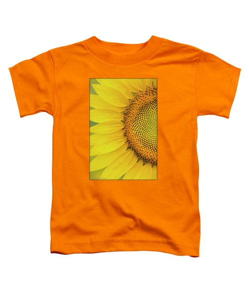 Sunflower Petals Toddler T-Shirt