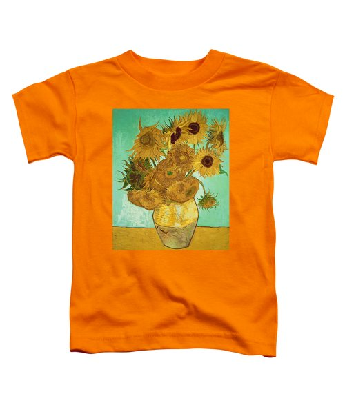 Sunflowers By Van Gogh Toddler T-Shirt