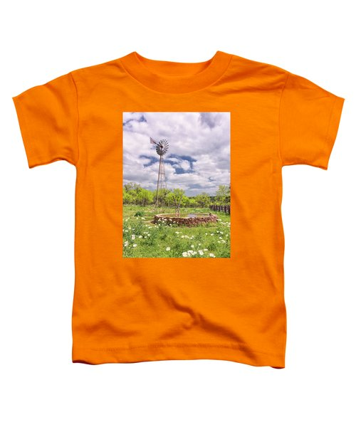 Wind And Water Toddler T-Shirt