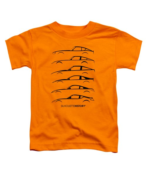 Zee Car Silhouettehistory Toddler T-Shirt