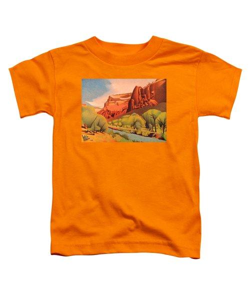 Zion Canyon Toddler T-Shirt